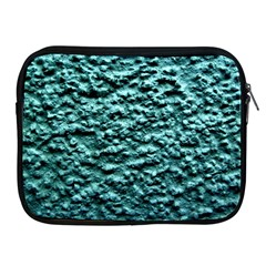 Blue Green  Wall Background Apple Ipad 2/3/4 Zipper Cases by Costasonlineshop
