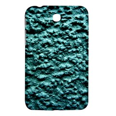 Blue Green  Wall Background Samsung Galaxy Tab 3 (7 ) P3200 Hardshell Case