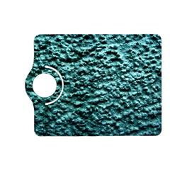 Blue Green  Wall Background Kindle Fire Hd (2013) Flip 360 Case
