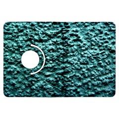 Blue Green  Wall Background Kindle Fire Hdx Flip 360 Case