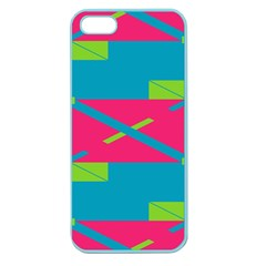 Rectangles And Diagonal Stripes			apple Seamless Iphone 5 Case (color) by LalyLauraFLM