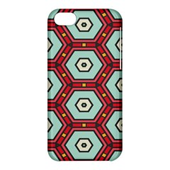 Hexagons Patternapple Iphone 5c Hardshell Case by LalyLauraFLM