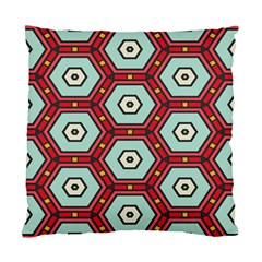 Hexagons Pattern standard Cushion Case (two Sides) by LalyLauraFLM