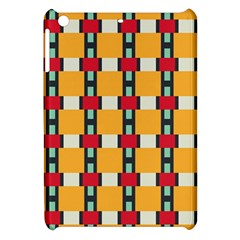 Rectangles And Squares Pattern			apple Ipad Mini Hardshell Case by LalyLauraFLM
