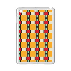 Rectangles And Squares Pattern			apple Ipad Mini 2 Case (white) by LalyLauraFLM