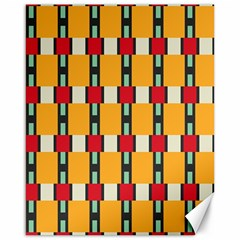 Rectangles And Squares Pattern			canvas 16  X 20  by LalyLauraFLM