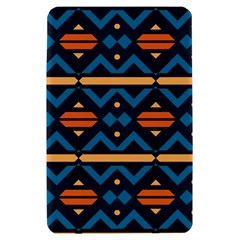 Rhombus  circles and waves pattern			Kindle Fire (1st Gen) Hardshell Case by LalyLauraFLM
