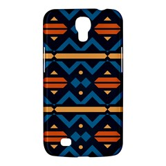 Rhombus  Circles And Waves Pattern			samsung Galaxy Mega 6 3  I9200 Hardshell Case by LalyLauraFLM