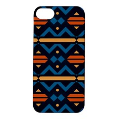 Rhombus  Circles And Waves Patternapple Iphone 5s Hardshell Case by LalyLauraFLM