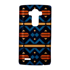 Rhombus  Circles And Waves Pattern			lg G4 Hardshell Case by LalyLauraFLM
