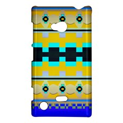 Rectangles And Other Shapes			nokia Lumia 720 Hardshell Case by LalyLauraFLM