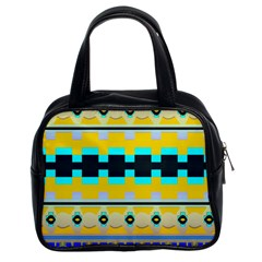 Rectangles And Other Shapes Classic Handbag (two Sides) by LalyLauraFLM