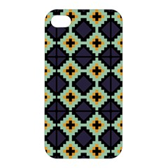 Pixelated Pattern Apple Iphone 4/4s Hardshell Case by LalyLauraFLM