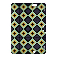 Pixelated pattern			Kindle Fire HDX 8.9  Hardshell Case by LalyLauraFLM