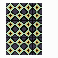 Pixelated Pattern Small Garden Flag by LalyLauraFLM