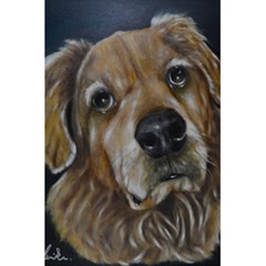 Selfie Of A Golden Retriever 5 5  X 8 5  Notebooks by timelessartoncanvas