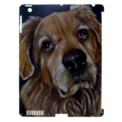 Selfie Of A Golden Retriever Apple Ipad 3/4 Hardshell Case (compatible With Smart Cover) by timelessartoncanvas