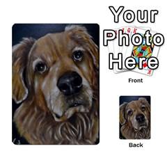 Selfie Of A Golden Retriever Multi Purpose Cards (rectangle)