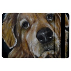 Selfie Of A Golden Retriever Ipad Air 2 Flip by timelessartoncanvas
