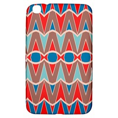 Rhombus and ovals chains			Samsung Galaxy Tab 3 (8 ) T3100 Hardshell Case by LalyLauraFLM