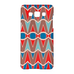 Rhombus And Ovals Chainssamsung Galaxy A5 Hardshell Case by LalyLauraFLM