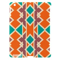 Rhombus Triangles And Other Shapesapple Ipad 3/4 Hardshell Case (compatible With Smart Cover) by LalyLauraFLM