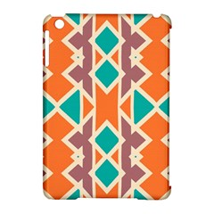 Rhombus triangles and other shapes			Apple iPad Mini Hardshell Case (Compatible with Smart Cover) by LalyLauraFLM