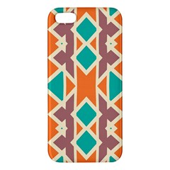 Rhombus Triangles And Other Shapesapple Iphone 5 Premium Hardshell Case by LalyLauraFLM