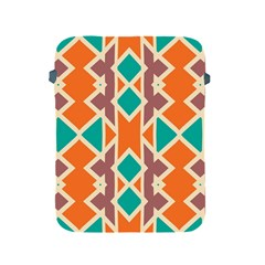 Rhombus Triangles And Other Shapes			apple Ipad 2/3/4 Protective Soft Case by LalyLauraFLM