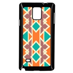 Rhombus Triangles And Other Shapes			samsung Galaxy Note 4 Case (black) by LalyLauraFLM