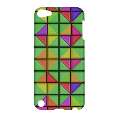 3d Rhombus Pattern			apple Ipod Touch 5 Hardshell Case by LalyLauraFLM