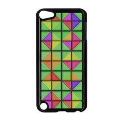 3d Rhombus Pattern			apple Ipod Touch 5 Case (black) by LalyLauraFLM