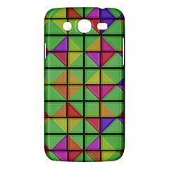 3d Rhombus Patternsamsung Galaxy Mega 5 8 I9152 Hardshell Case by LalyLauraFLM