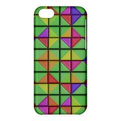 3d Rhombus Patternapple Iphone 5c Hardshell Case by LalyLauraFLM