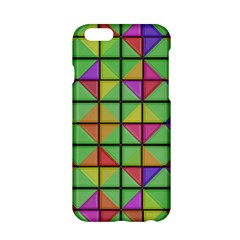 3d Rhombus Pattern			apple Iphone 6/6s Hardshell Case by LalyLauraFLM
