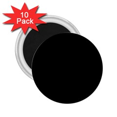 Black Gothic 2.25  Magnets (10 pack)  by Costasonlineshop