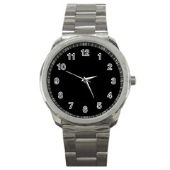 Black Gothic Sport Metal Watches by Costasonlineshop