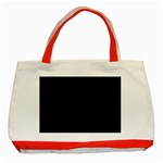 Black Gothic Classic Tote Bag (Red)