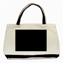 Black Gothic Basic Tote Bag (two Sides)  by Costasonlineshop