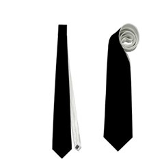 Black Gothic Neckties (two Side)  by Costasonlineshop