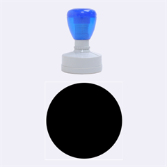 Black Gothic Rubber Round Stamps (Medium) by Costasonlineshop
