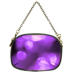 Purple Circles Chain Purses (one Side)  by timelessartoncanvas