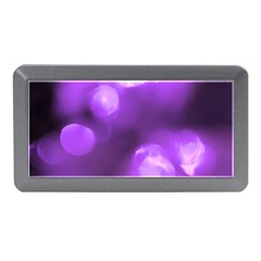 Purple Circles Memory Card Reader (mini) by timelessartoncanvas