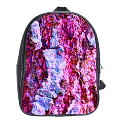 Purple Tree Bark School Bags (xl)