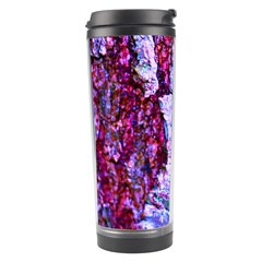 Purple Tree Bark Travel Tumblers by timelessartoncanvas