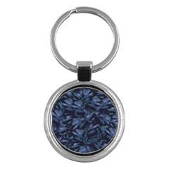 Tropical Dark Pattern Key Chains (round)  by dflcprints