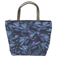 Tropical Dark Pattern Bucket Bags by dflcprints