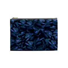 Tropical Dark Pattern Cosmetic Bag (medium)  by dflcprints