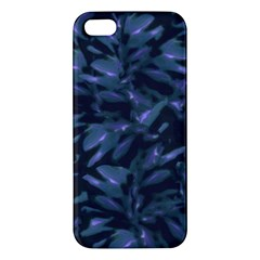 Tropical Dark Pattern Iphone 5s Premium Hardshell Case by dflcprints