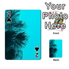 Modern Palm Leaves Playing Cards 54 Designs